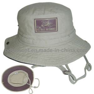 Washed Cotton Canvas Outdoor Climb Fishing Bucket Hat (TMBH03777-1) pictures & photos