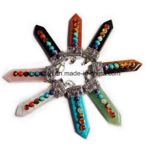 Semi Precious Stone Fashion Crystal Gemstone Beadjewelry Pendant (ESB01472) pictures & photos