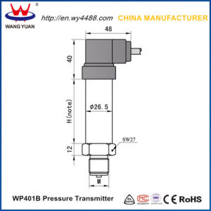 China Manufacturer 0 to 10bar Pressure Gauge Liquid Pressure Transmitter pictures & photos