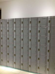 ABS Plastic Locker for School Student pictures & photos