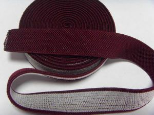 Non-Slip Two Side Striped Cotton Webbing pictures & photos