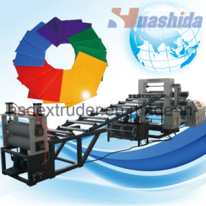 ABS/PE/ PP/ PS/ Pet/PC/ PMMA Sheets and Board Mono-Layer and Multi-Layer Extrusion Line pictures & photos