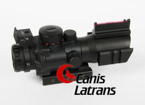 4X Red Fiber Rifle Scopes with Rail for Hunting, Cl1-0105 pictures & photos