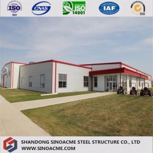 Steel Commercial Building for Convenience Store with Warehouse pictures & photos