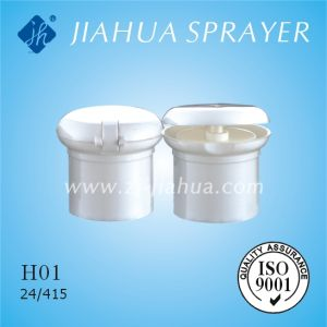 PP Bottle Flip-Top Cap for Cosmetic Packing (H01) pictures & photos