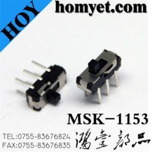6pin DIP Type Slide Switch (MSK-1153-2) pictures & photos