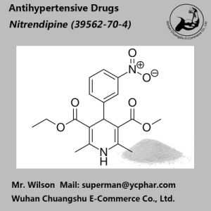 Pharmaceutical Raw Materials Nitrendipine for Antihypertensive 39562-70-4 pictures & photos
