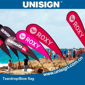 Unisign Durable and Stable Beach Flags with Different Size and Base for Your Choice (UBF-A, UBF-B, UBF-C, UBF-E, UBF-F, UBF-G) pictures & photos