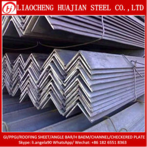 Equal Black Steel Angle for Structure Bulding Material pictures & photos