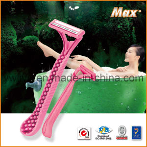 High Quality Twin Blade Good Selling Disposable Razor (LY-2300) pictures & photos