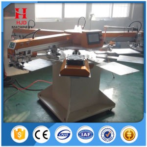Round Shape Automatic Screen Printing Machine 1 Color, 2colors, 4colors pictures & photos