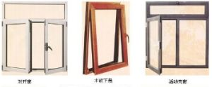 Aluminium Different Open Way Window pictures & photos