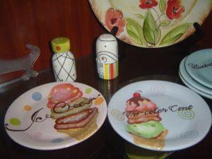 Ceramic Cake Plate pictures & photos