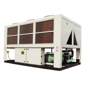 Air-Cooled Industrial Chiller Speed Screw Chiller with Semi-Hermetic Screw Compressor pictures & photos