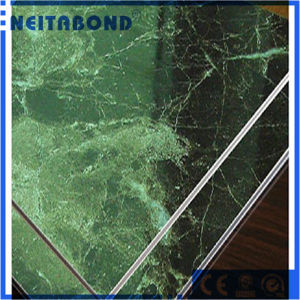 Natural Marble Grain Stone Aluminum Composite Panel with Good Price pictures & photos