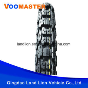 100% Quality Cross Country Pattern Motorcycle Tyre 4.10-18 pictures & photos
