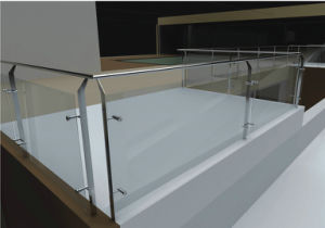 Best Selling Roof Balcony Glass Balustrade with AS/NZS2208 for Commercial Building pictures & photos
