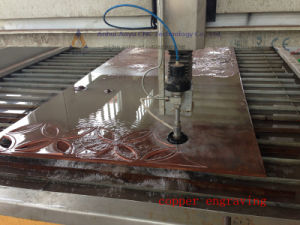 CNC Waterjet Cutter/ CNC Water Jet Cutting Machine for Metal, Stone, Glass, Woodcutting pictures & photos