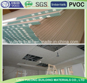 Good Quality Gypsum Board/Plaster Board for Ceiling pictures & photos