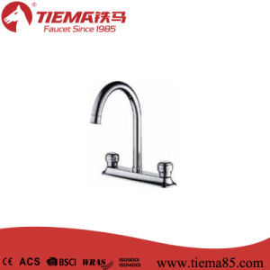 Brass Body Zinc Handle Kitchen Tap (ZS2211)