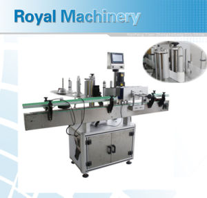 Round Bottle Adhesive Labeling Machine pictures & photos