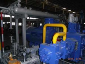 Type D Compressor in The Mother Station