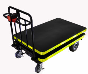Electric Hydraulic Lifting Table Cart (DH-LF1-C5 Curtis Controller, 500W Motor) pictures & photos