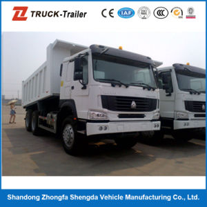30 Ton 6*4 Sand HOWO Dump Truck for Sale in Dubai