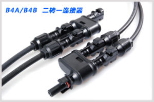 Solar Panels System Connector with Cable for Photovoltaic Accessories pictures & photos
