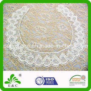 Large Exquisite Circle Shape Embroidery Collar Lace