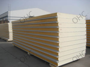 Polyurethane PU Cold Storage Sandwich Panel pictures & photos