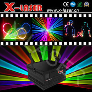 40kpps Scanner Laser/Mini 5W RGB Laser Light Show/Stage Light/Disco Lighting pictures & photos