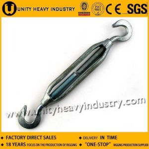 JIS Type Zinc Alloy Turnbuckle with Hook