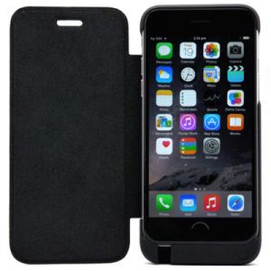 Portable Battery Power Flip Leather Cases