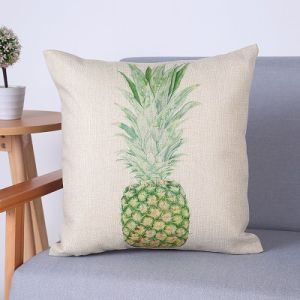 Digital Print Decorative Cushion/Pillow with Botanical&Floral Pattern (MX-67) pictures & photos