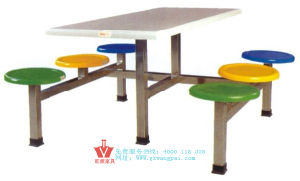 Assembly Stainless Steel Canteen Tables (WP10-8008)