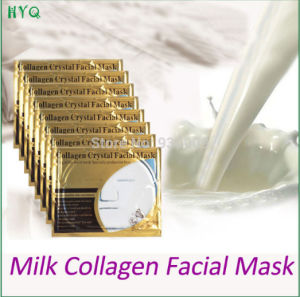 Fashionable Skin Care Gold Bio Milk Collagen Crystal Facial Mask Whitening Moisturizing Facial Mask Face Care pictures & photos