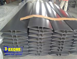 Aerofoil Aluminum Storm Shutter as Exterior Louver