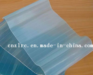 Beautiful View Clear Corrugated FRP Roofing Sheet, Clear FRP Roofing Sheet pictures & photos