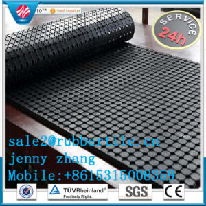 Anti-Fatigue Rubber Mat 10meter Long Black Rubber Roll Mat Ute Mat pictures & photos