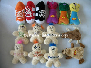 Pet Plush Dog Toy Squeaky Chew Bite Dog Toy pictures & photos