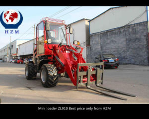 Mini Farming Machine Hot Sale in Europe Mini Wheel Loader pictures & photos