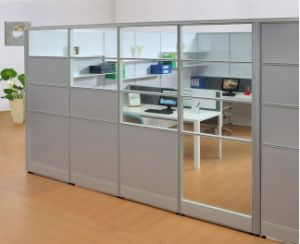 Customized Tempered Glass Modern High Partition Wall (SZ-WS150) pictures & photos