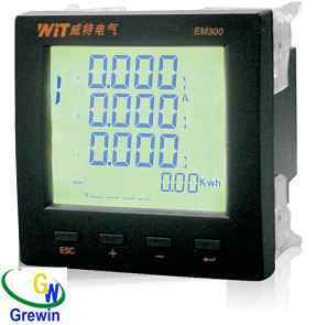 Three Phases Ultrathin Power Meter pictures & photos