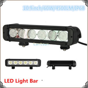 CREE LED Light Bar off Road Series 8- 60W 1 Row Waterproof pictures & photos