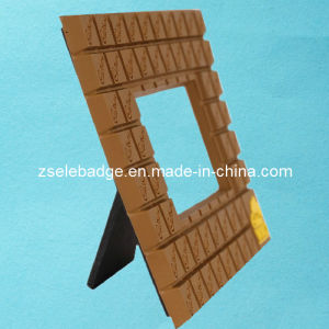 Grid Rubber PVC Photo Frame (ele-PF02) pictures & photos