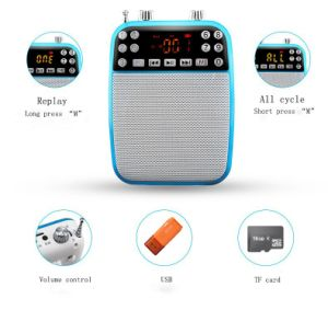 Bluetooth Speaker/Portable Voice Amplifier for Speech/Teaching (F73)