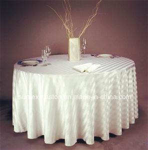 Ls1406 100% Polyester Printed Tablecloth pictures & photos