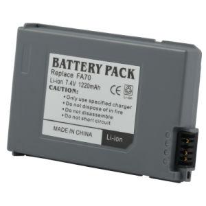 Digital Camera Battery/Camcorder Battery for Sony (FA70 7.4V 1220mAh)