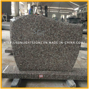 G664 of Pink/Brown Granite Tombstone of Red Cheap Monuments pictures & photos